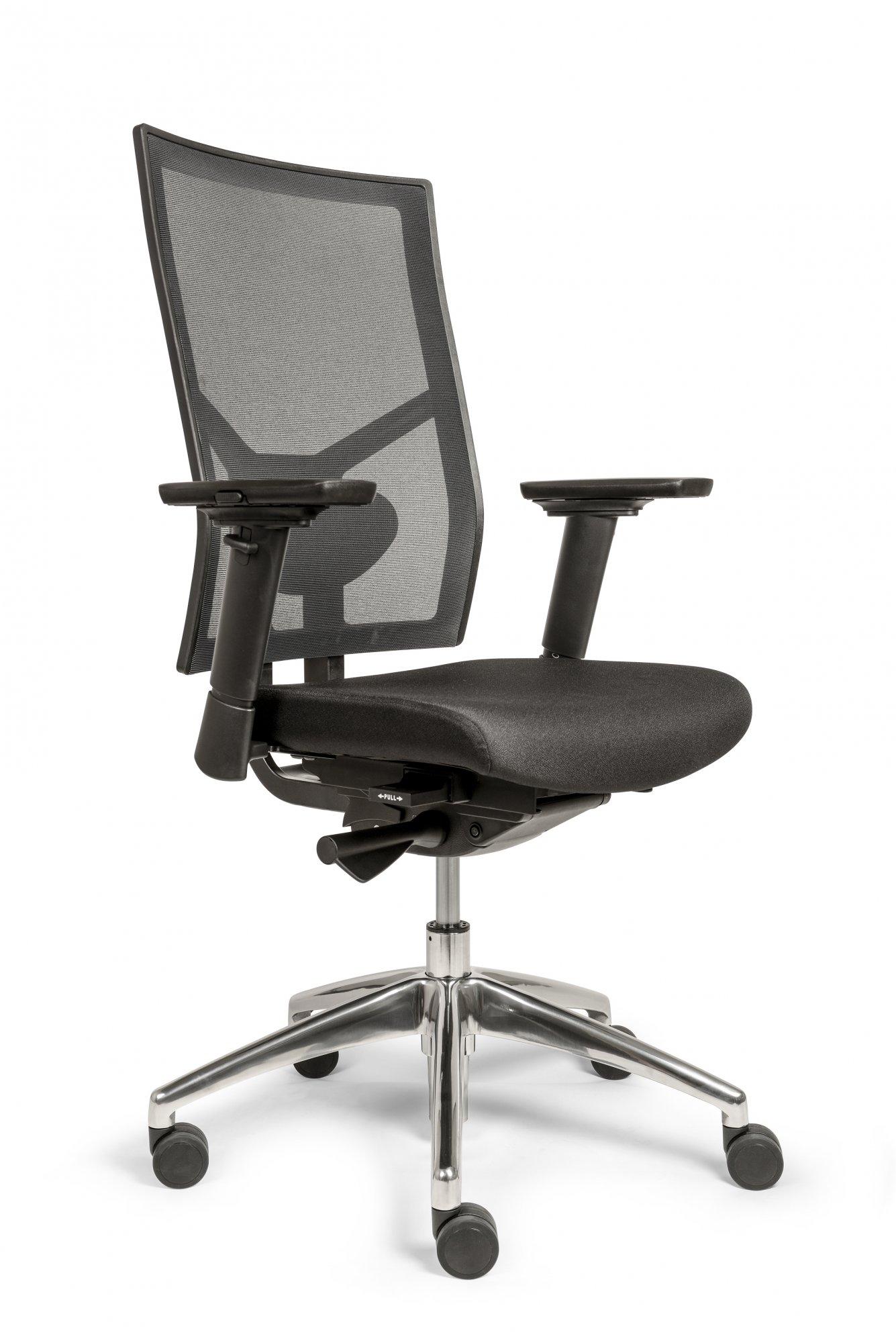 neuer drehstuhl emma das zweite b ro gesundsitzer hausmarke. Black Bedroom Furniture Sets. Home Design Ideas