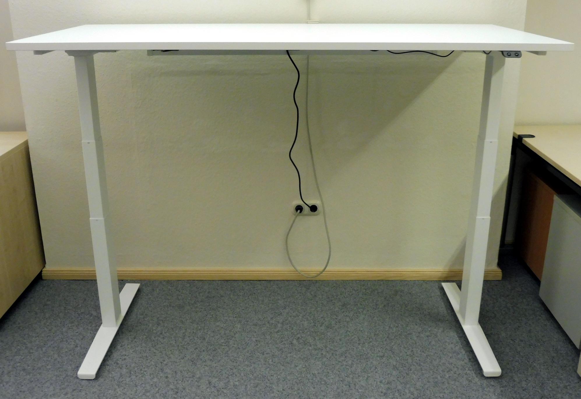 Elektrisch Höhenverstellbarer Schreibtisch Das Zweite Büro