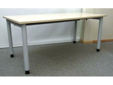 höhenverstellbarer Schreibtisch Ahorn Dekor von Febrü