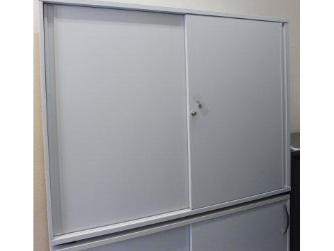 Schiebtüren Sideboard für 3 Ordnerhöhen