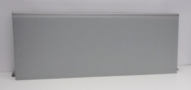 Trennwand zum aufschrauben auf die Platte