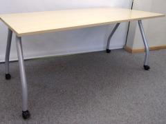 Schreibtisch auf Rollen von Werndl