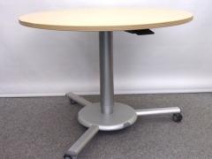 höhenverstellbarer Konferenztisch von Dyes, Buche Dekor