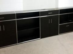 schwarzes Sideboard von Bosse